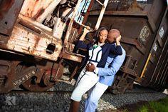 downtown nashville engagement photos, shelby bridge, cumberland park, african american wedding, #nashvillecouple, #nashvillewedding, @ROLAND'S Photography