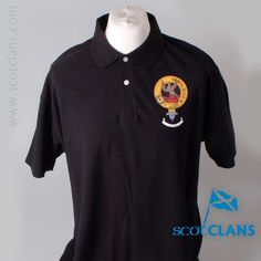 Hay Clan Crest Polo Shirt. Free worldwide shipping available