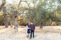 Engagement Portrait Hands Around Arm Looking at Each Other   Chico-California-Engagement-Wedding-Photographer-Bidwell-Park-Engagement-Photography
