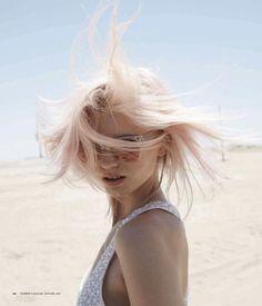 Abbey Lee Kershaw for Harper's Bazaar Australia, shot by Simon Upton