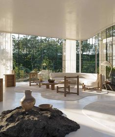 Une maison de verre design dans la nature brésilienne - PLANETE DECO a homes world