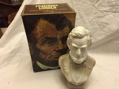 Avon wild country Cologne after shave bottle In box Abraham Lincoln