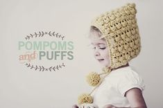 Ravelry: PomPoms and Puffs Pixie Hat pattern by Katherine Heise [FREE]
