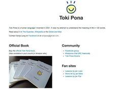 Toki Pona, the world's smallest language