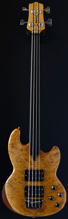 WAL Mark I Custom Fretless (1983) 4 string bass - Shared by The Lewis Hamilton Band - https://www.facebook.com/lewishamiltonband/app_2405167945 - www.lewishamiltonmusic.com