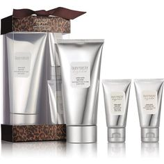 Laura Mercier Le Home & Away Ambre Vanille Holiday Body & Bath Set (€32) ❤ liked on Polyvore featuring beauty products, gift sets & kits, apparel & accessories, no color and laura mercier