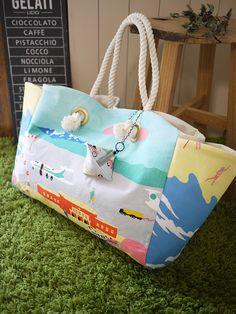 ミニポーチつきトートバッグ   コッカファブリック・ドットコム 布から始まる楽しい暮らし kokka-fabric.com