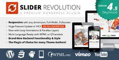 Download Slider Revolution v4.5.0 – Responsive WordPress Plugin