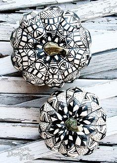 doodled pumpkins | balzer designs