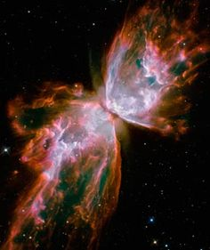 hubble space telescope photos - this is called the Butterfly Nebula