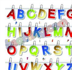 alphabets canvas print for kids for just rupees 1625 @bsabling.com #canvasprints #canvaspainting