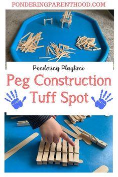 Feelings Activities, Eyfs Activities, Nursery Activities, Infant Activities, Activities For Kids, Construction Area Early Years, Construction Area Ideas, Construction Eyfs, Tuff Spot