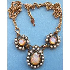 Signed Empress Necklace by Sarah Coventry, 1972