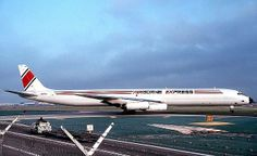 Airborne Express DC-8F