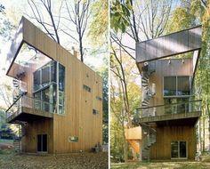 Tree House Design - wooden house, modern house design, modern tropical house, interior design