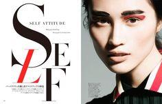 Harper's Bazaar Japan - Self Attitude
