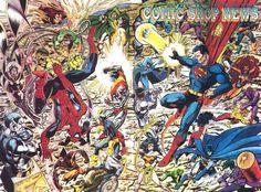 Goku, Superhero Images, John Byrne, Marvel X, Comic Artist, Justice League, Book Lovers, Dc Comics, Geek Stuff
