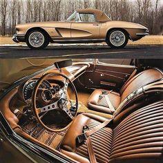 1962 Chevrolet Corvette #chevroletcorvette1962