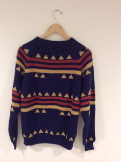 Vintage Sweater  90s Cozy Retro Grunge Hipster by RetroRevivalClub