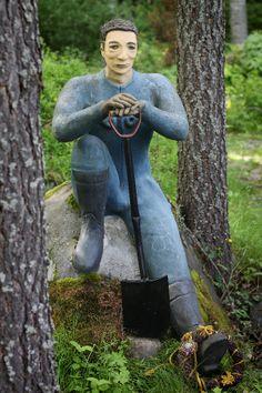 Veijo Rönkkösen Patsaspuisto, Parikkala Outsider Art, Garden Sculpture, Outdoor Decor
