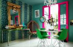 My house if full of color......it is the way life should be!