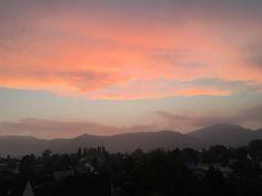 Pastel colour Sky through my balcony,,,Graz Pastel Colors, Balcony, Shots, Sky, Colour, Celestial, Sunset, Outdoor, Graz