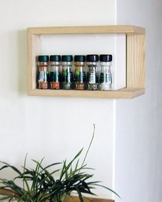 corner shelf, but not the usual way - goes inside or around a corner