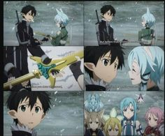 Kirito and Sinon>Classic Sinon, setting mines for Kirito to step on.