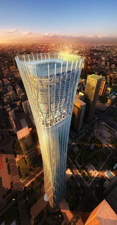 Beijing, China Skyscraper. Click to view more detailed architectural pictures