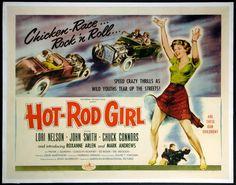 "FRANK GORSHIN is ""Flat Top"" in ""HOT ROD GIRL"" (1956)."