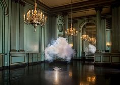 Nimbus Series by Berndnaut Smilde