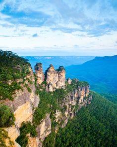 Greater Blue Mountains Area, Australia - UNESCO World Heritage sites.