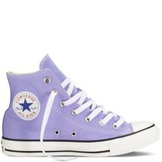 f514961651861 Converse - Chuck Taylor Fresh Colors - Hi - Radio Blue on Wanelo Converse  Violet