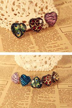 Vintage Heart Shape Ring, #Wendybox