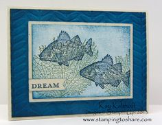 Stamping to Share: 3/19 By the Tide Canvas Creation