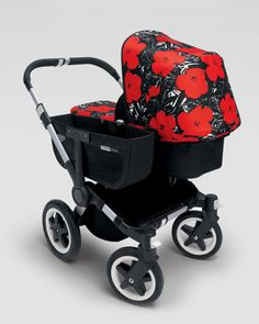Andy Warhol Donkey Flowers Tailored Fabric Set by Bugaboo at Neiman Marcus. | OMG in love!