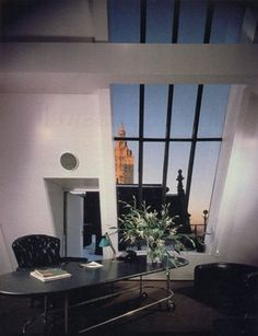 Ward Bennett's apartment in the Dakota.