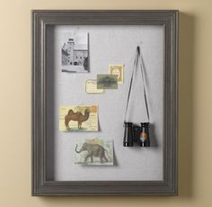 Shadowbox Memory Board - traditional - kids decor - - by Restoration Hardware Baby & Child