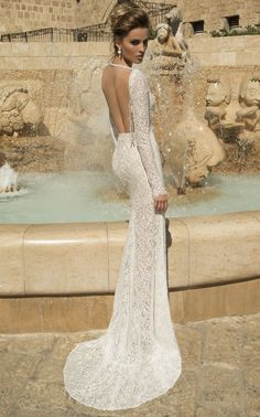Galia Lahav Wedding Dresses with Sexy Open Back Designs. To see more…