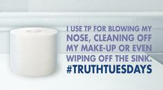 What's your bathroom confession? #TruthTuesdays