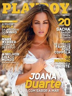 Playboy (Portugal) September 2012  with Joana Duarte on the cover of the magazine