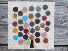 Playing Catch-Up Shenandoah Valley Botanical Album Quilt, Liberty Tree