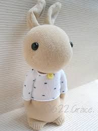 Image result for sock rabbit instructions