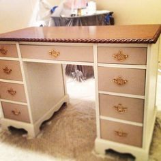 Newest desk project! #officespace