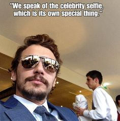 James Franco's Selfie Manifesto — Photos of James Franco - Cosmopolitan