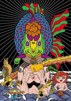 Update: The Psychedelic Works of Keiichi Tanaami: keiichi_tanaami_18_20120708_1702506273.jpeg