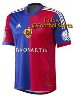 8a5db86880 FC Basel adidas Home Shirt 2013 14 Fc Basel