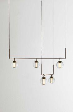 neri and hu lighting White Pendant Light, Pendant Light Fixtures, Light Fittings, Pendant Lighting, Pendant Lamp, Interior Lighting, Home Lighting, Modern Lighting, Lighting Design