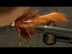 Barr's Meat Whistle Bass Trout Streamer Fly Tying Video Directions
