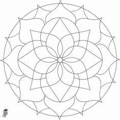 dibujos asimétricos para colorear - Buscar con Google